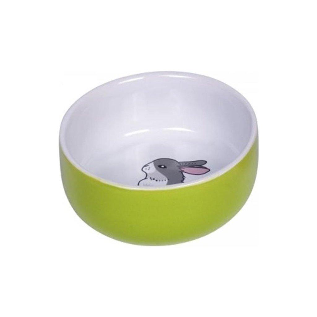 Miska hlod. keramická s obrázkem zelená 250ml