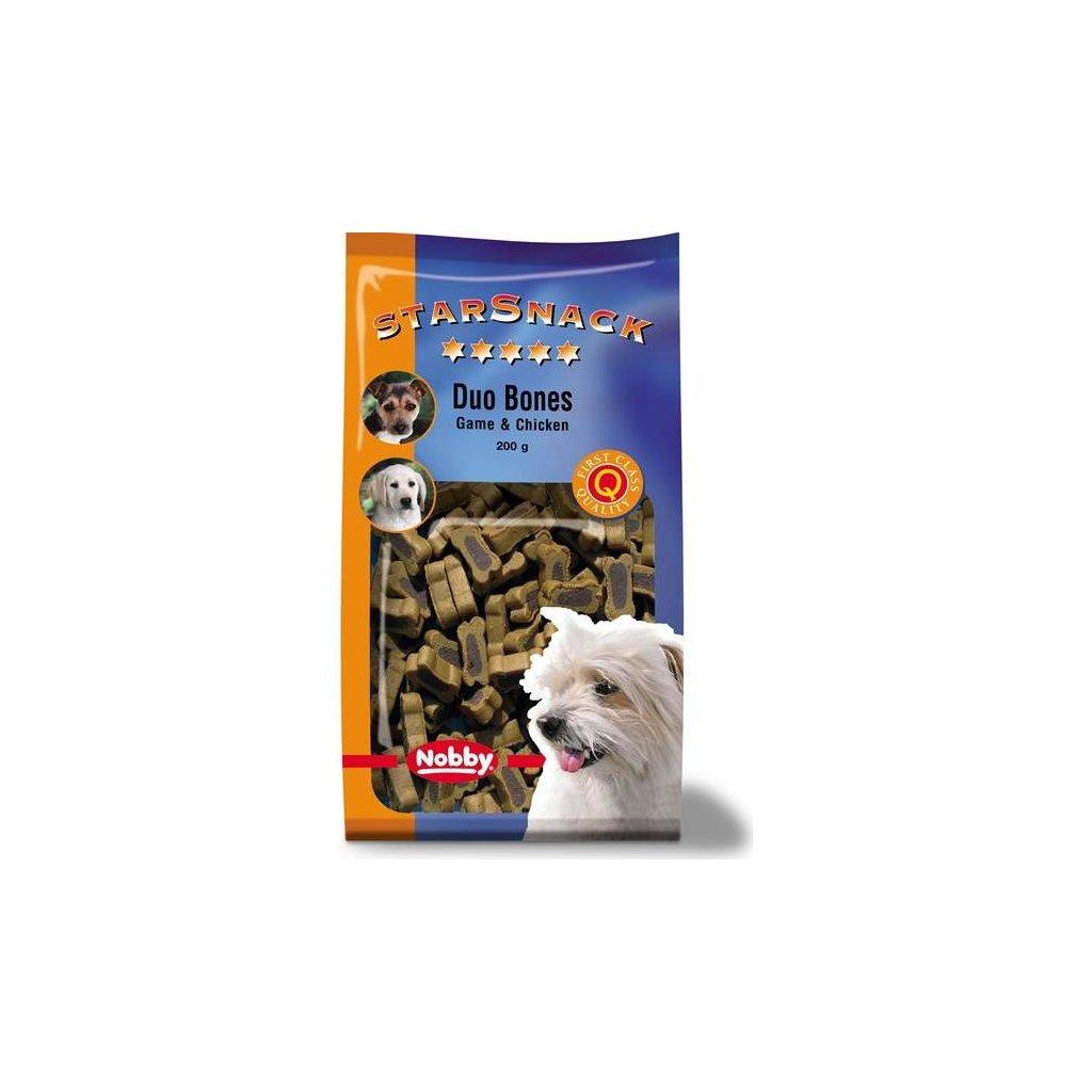 Nobby pamlsek - StarSnack Duo Bones Game + Chicken 200 g