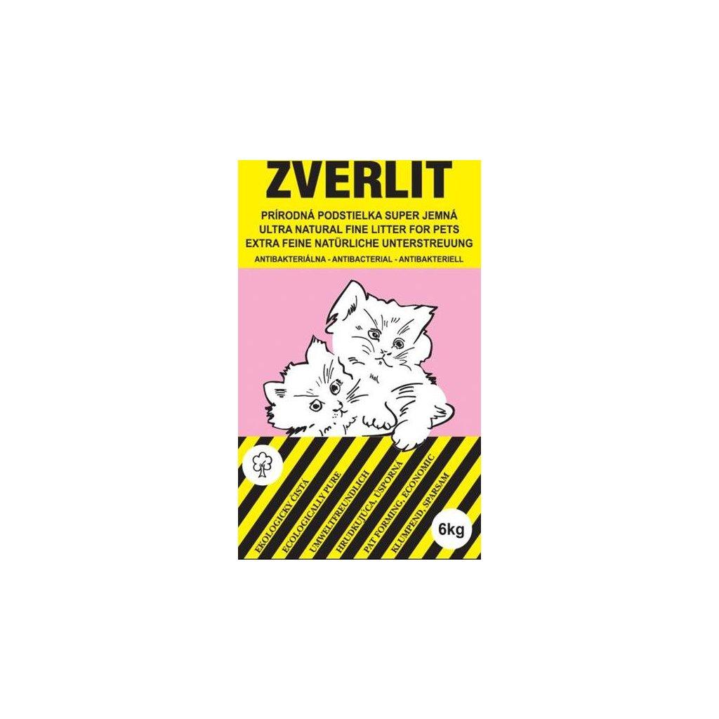 Podestýlka Cat Zverlit superjemná - fialová 6 kg bez vůně