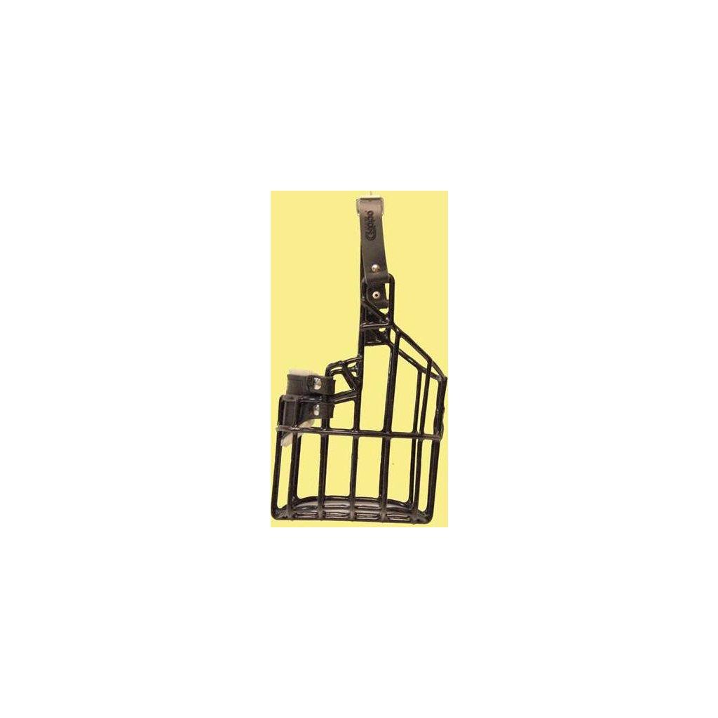 Náhubek kovový Eldeltetiér - pes, gumoplast 105 x 120 x 120 mm