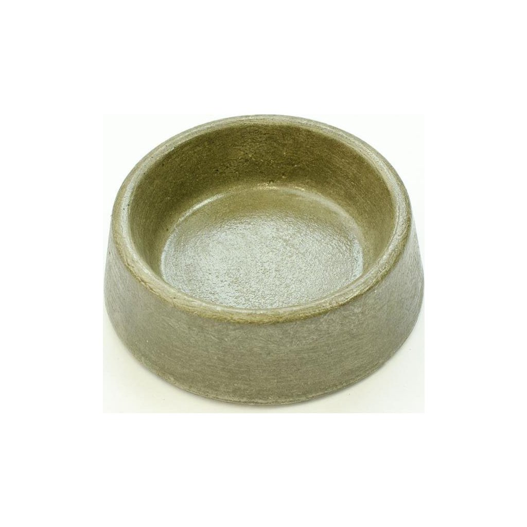 Miska beton kulatá, nízká č. 204 Bemi prům. 155 x 55 mm
