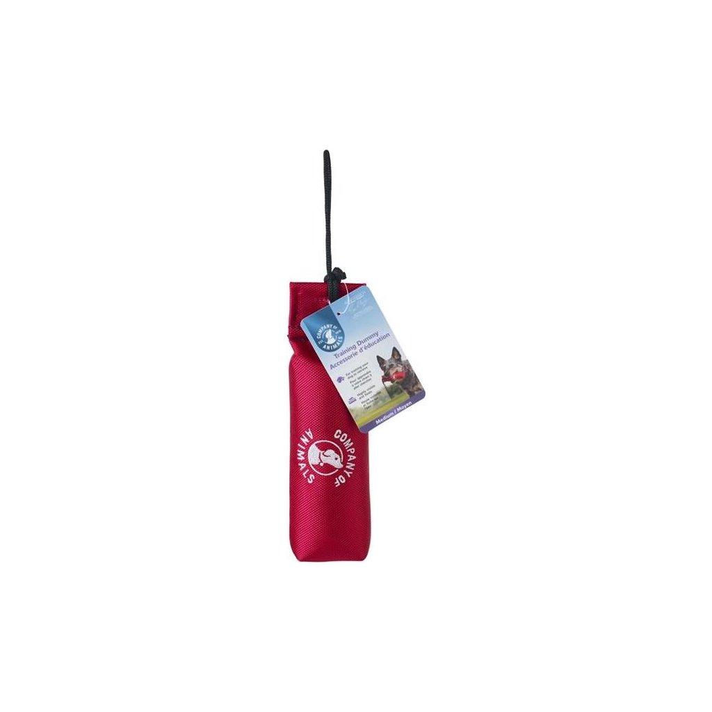 Pešek tréninkový nylon plovoucí S - červený 19 x 11 cm