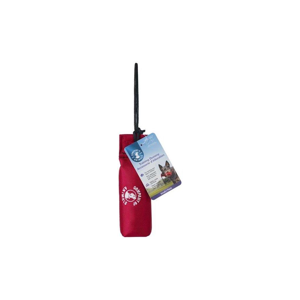 Pešek tréninkový nylon plovoucí L - červený 25 x 17 cm