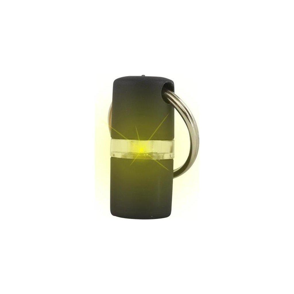 Přívěšek na obojek svítící B´seen Kruuse černý 1 ks