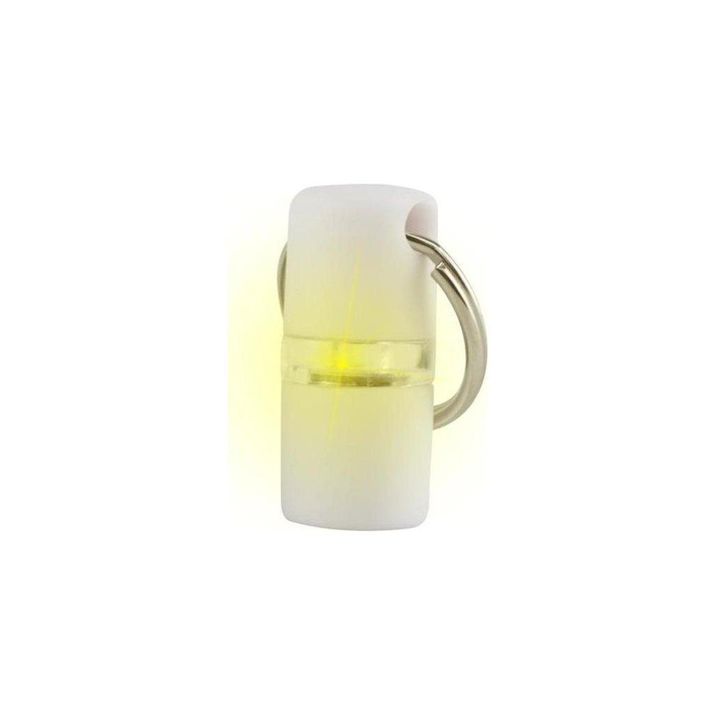 Přívěšek na obojek svítící B´seen Kruuse bílý 1 ks