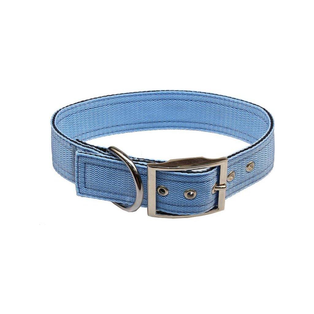 Obojek nylon modrý B&F 4,0 x 55 cm