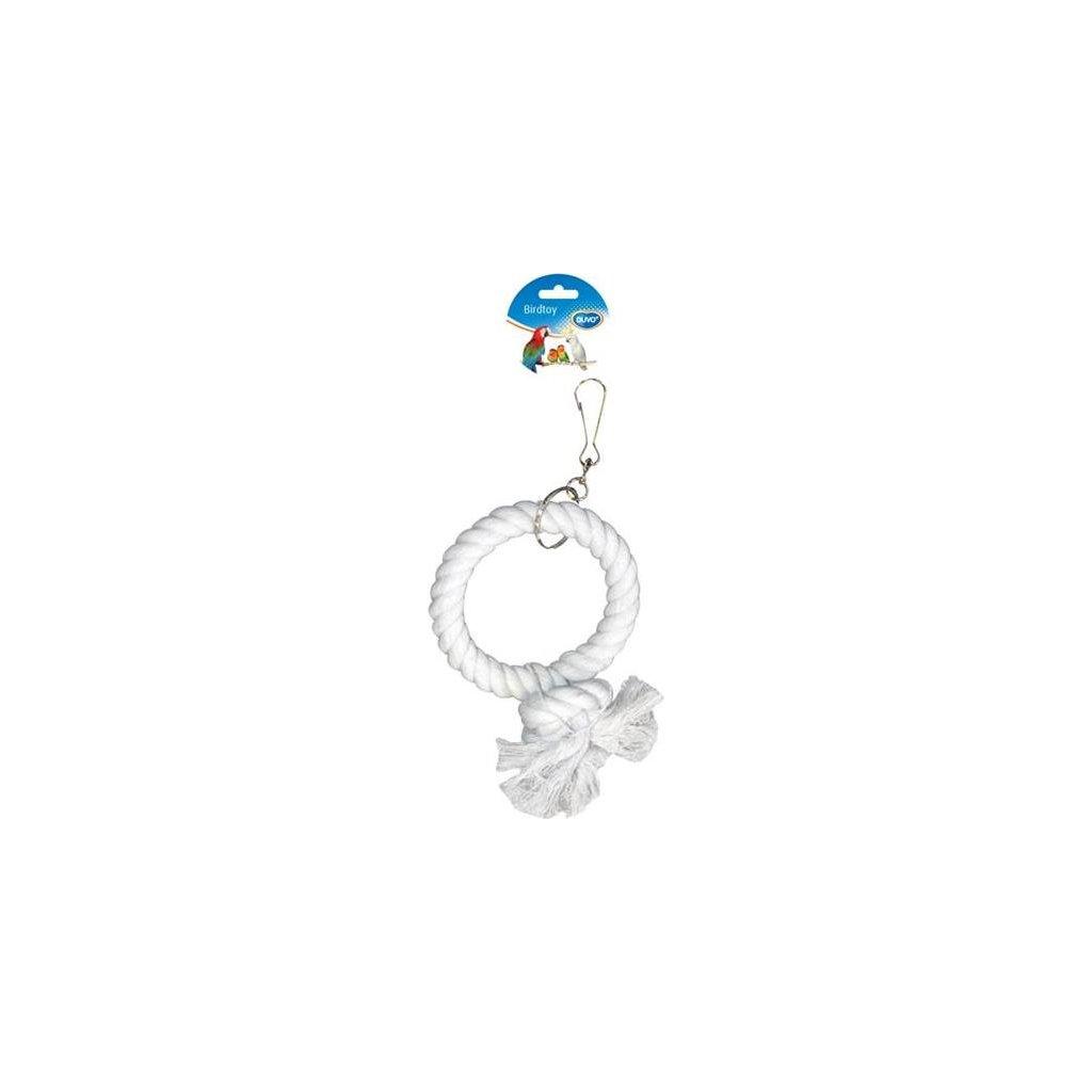 Hračka pták bavl. Kruh Duvo+ prům. 17 cm