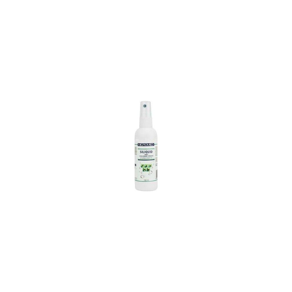Spray na hojení ran MICROMED s ionty stříbra 100 ml