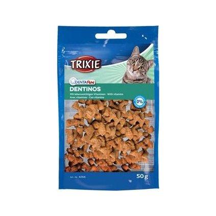 Trixie DENTINOS-vitaminy kočka 50g TR