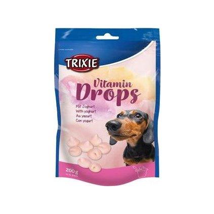 Trixie Drops Jogurt s vitaminy pro psy 200g TR