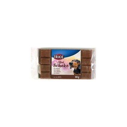 Trixie Čokoláda Mini hnědá s vitaminy 30g TR