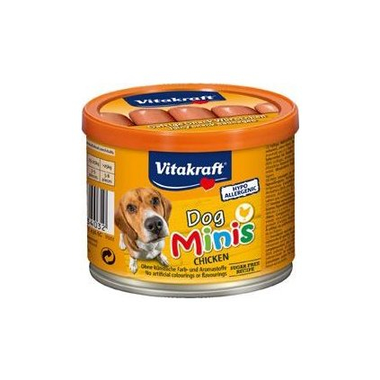 Vitakraft Dog pochoutka Snack Minis Chicken párky 12ks