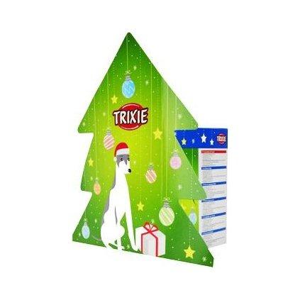 Vánoční dárková krabice pro psy zelená TR
