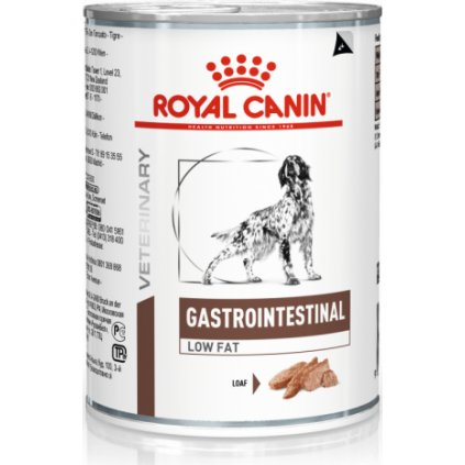 Veterinary Diet Dog Gastrointestinal Low Fat Can-0.41Kg