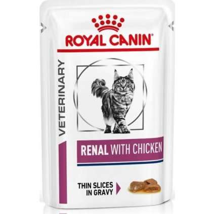 Royal canin Veterinary Diet Cat Renal Chicken Pouch 1x