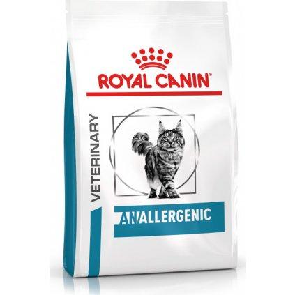 Veterinary Health Nutrition Cat Anallergenic-2Kg