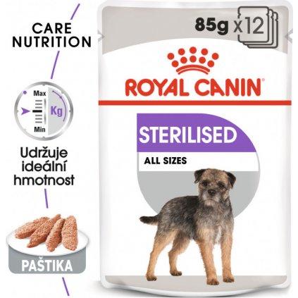 Sterilised Dog Loaf 12x-0.085Kg