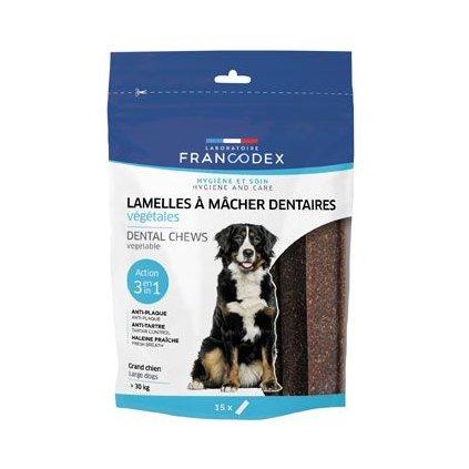 Francodex Weggy žvýkací plátky L pes 490 g 15ks