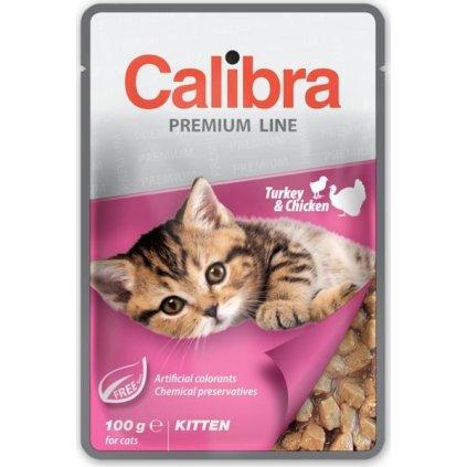 Calibra Cat kaps. Premium Kitten Turkey & Chicken100 g