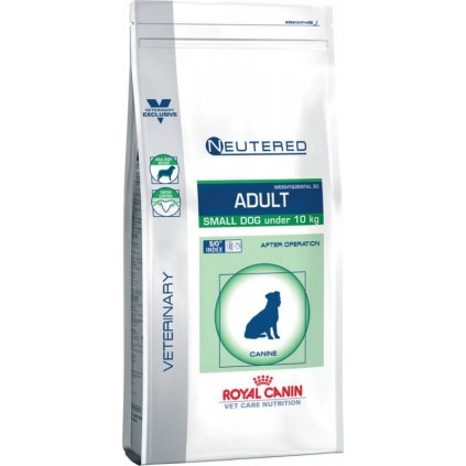 Veterinary Care Dog Neutered Adult Small-8Kg