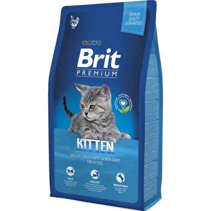 Brit Premium Cat Kitten 8kg NEW