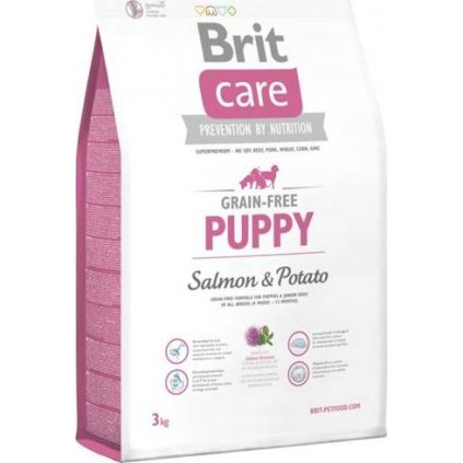 Brit Care Grain Free Dog Puppy Salmon & Potato 3 kg