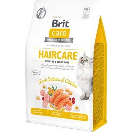 Brit Care Cat Grain-Free Haircare Healthy & Shiny Coat 0,4 kg