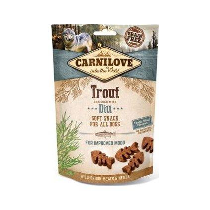 Carnilove Dog Semi Moist Snack Trout&Dill 200g