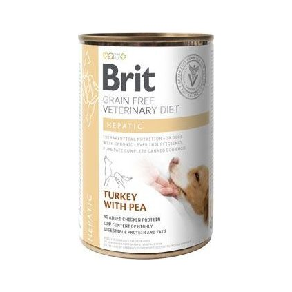 Brit VD Dog GF konz. Hepatic 400g