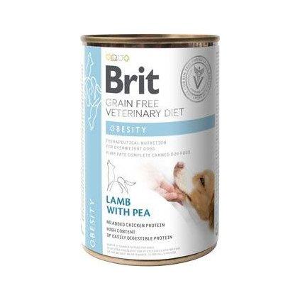 Brit VD Dog GF konz. Obesity 400g