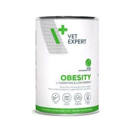 VetExpert VD 4T Obesity Dog konzerva 400g