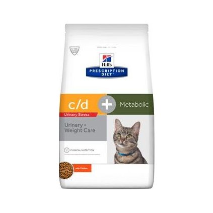 Hill's Fel. PD C/D dry Urinary Stress+Metabolic 1,5kg