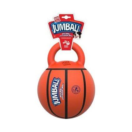 Hračka pes GiGwi Jumball Basketball míč s rukojetí