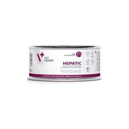 VetExpert VD 4T Hepatic Cat konzerva 100g