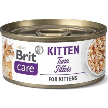 Brit Care Cat konz. Kitten -Tuna Fillets 70 g