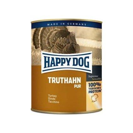 Happy Dog konzerva Truthahn Pur krůtí 800g