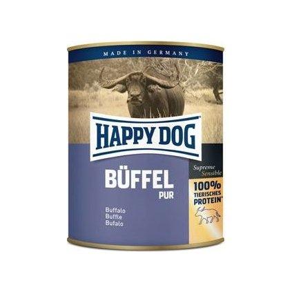 Happy Dog konzerva Buffel Pur buvolí 800g