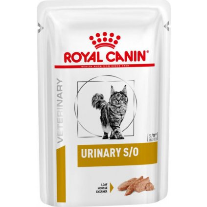 Veterinary Health Nutrition Cat Urinary S/O Pouch in Loaf 12x-0.085Kg