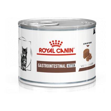 Veterinary Diet Cat Gastrointestinal Mousse Kitten-0.195 kg