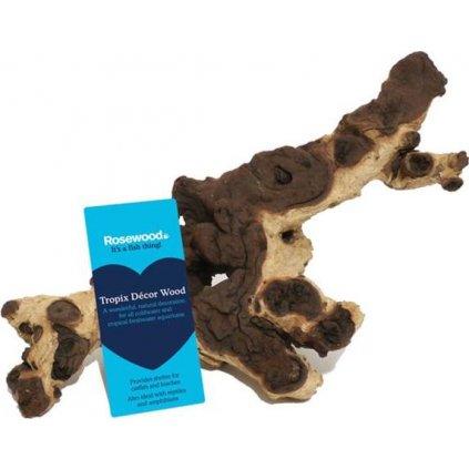 Dekorace do akvária dřevo Rosewood display 36 ks