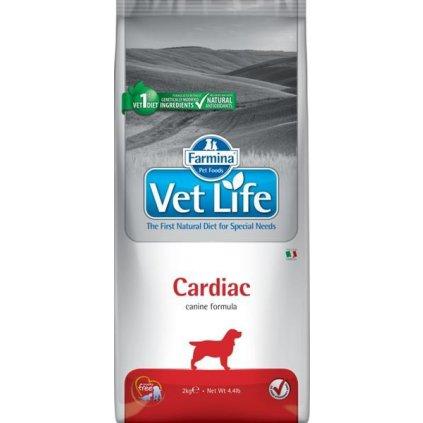 Vet Life Natural Canine Dry Cardiac 2 kg