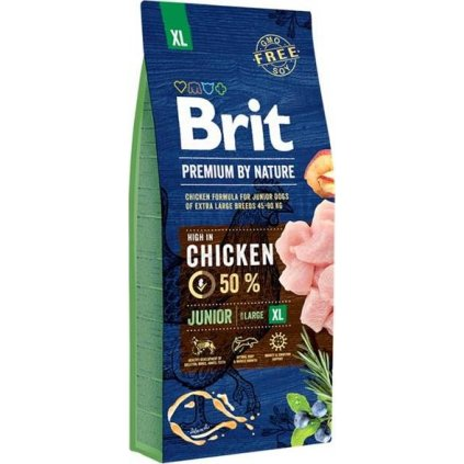 Brit Premium by Nature Dog Junior XL 15 kg
