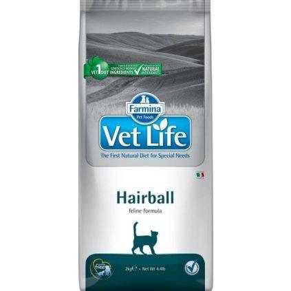 Vet Life Natural Feline Dry Hairball 2 kg