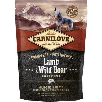 Carnilove Dog Adult Lamb & Wild Boar Grain Free 1,5 kg