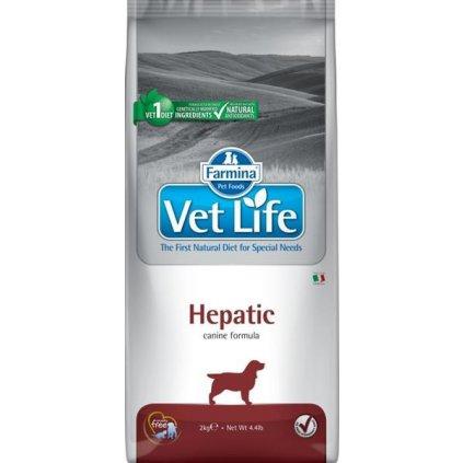 Vet Life Natural Canine Dry Hepatic 2 kg