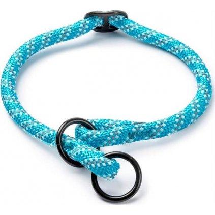 Obojek nylon polostah. kulatý - modrý Freezack 1,2 x 40-45 cm