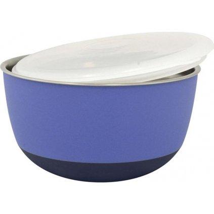 Miska matná s víčkem fialová 0,7l Duvo+