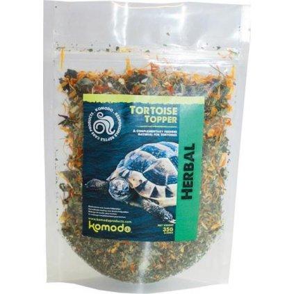 Komodo Tort. Topper Herbal - suchozem. želva 40g
