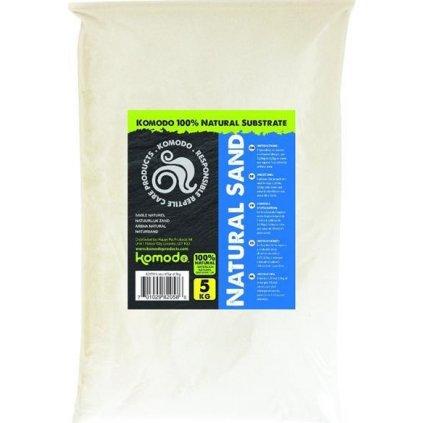 Písek terarijní bílý přírodní Komodo 5kg