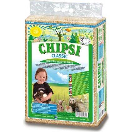 Podestýlka hlod. Chipsi Classic 60l, 3,2kg